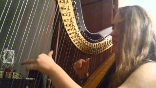 Avicii - Hey brother - harp cover (by Matea)