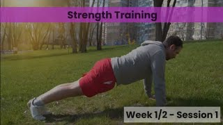Strength - Week 1&2 Session 1 (Control)