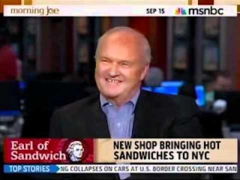 Earl Of Sandwich on Morning Joe