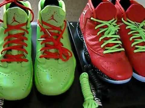 Air Jordan 2012 Christmas and The
