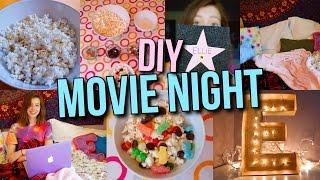 DIY Movie Night Party: Treats, Decor + more!