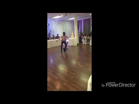 Baby na yoka dance (flavour) wedding day, he killed it!!