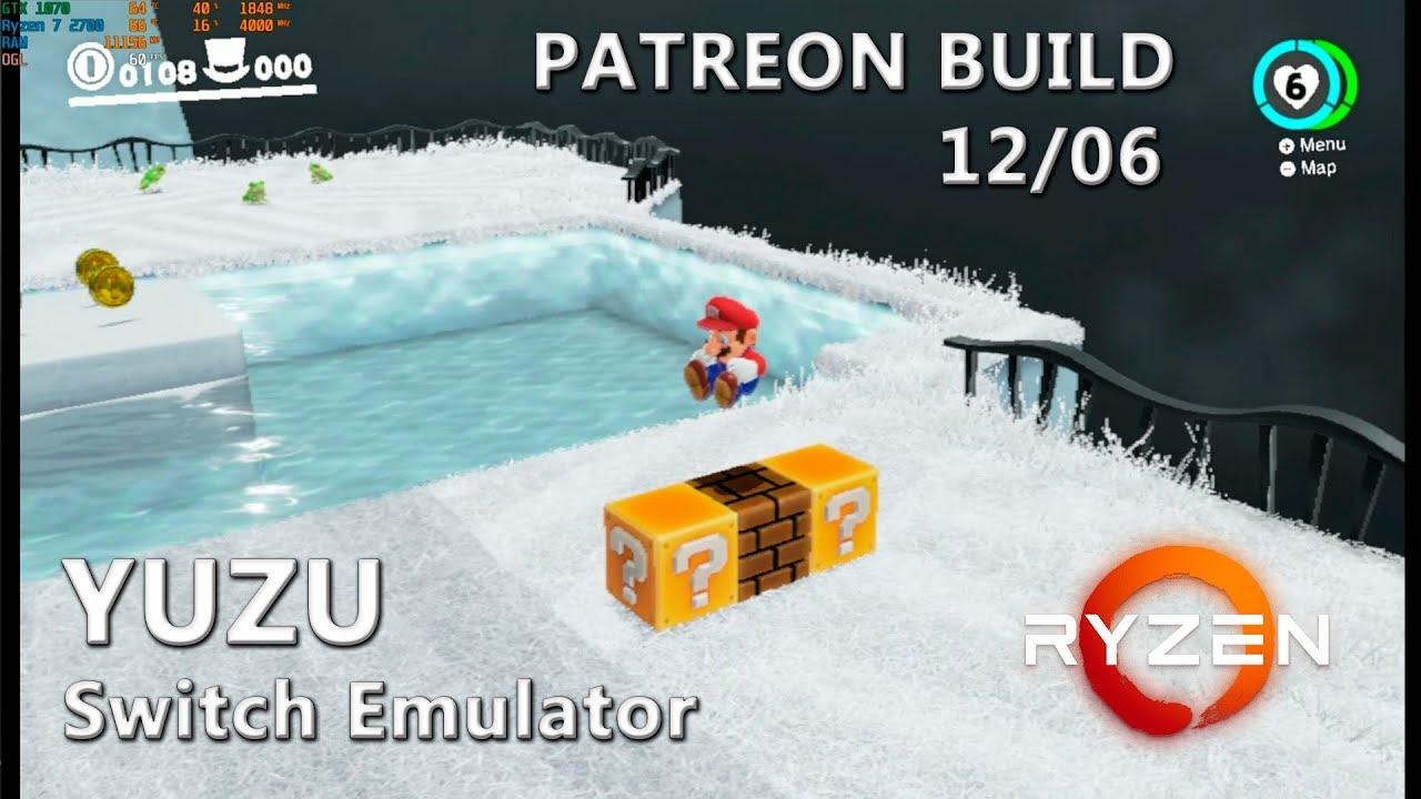 Yuzu (Patreon June 12th) | Super Mario Odyssey (Test #3)
