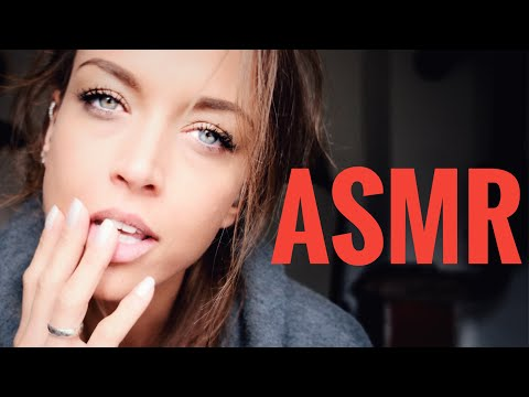 ASMR Gina Carla 👄  #CLOSE UP! Humming! Whispering! Kissing!