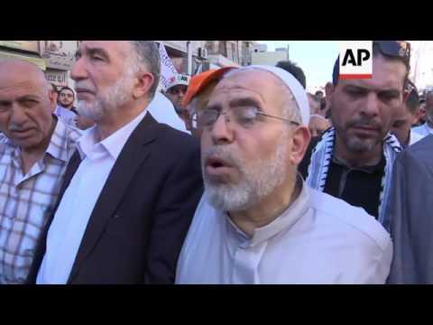 Jordanians protest against Israel over al Aqsa violence