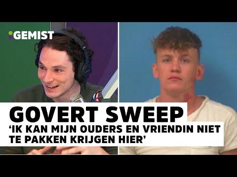 Daniël belt LIVE met Govert Sweep vanuit de GEVANGENIS in Amerika! | 538 Gemist