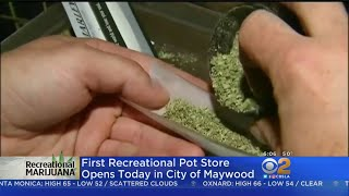 Maywood's First Recreational Pot Dispensary Opens Tuesday
