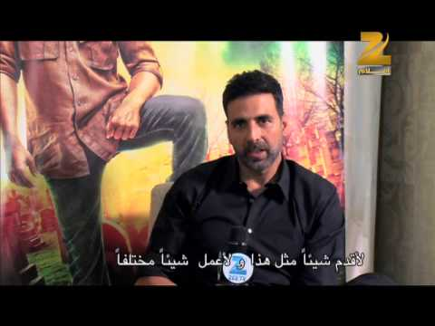 Akshay Kumar Message To His Fans In Middle East - Gabbar Is Back