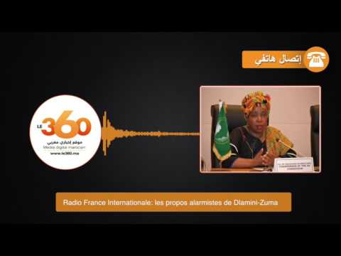 Radio France Internationale: les propos alarmistes de Dlamini-Zuma
