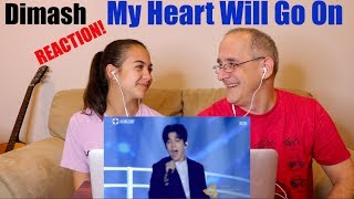 Dimash Kudaibergen - My Heart Will Go On - Hainan International Film Festival 2018 | REACTION