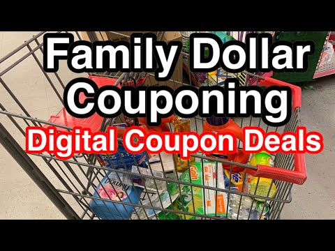 Family Dollar $5 Off $25 | BACK TO COUPONING 4/30/20
