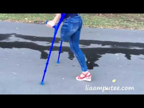 My walk on crutches (promo clip)