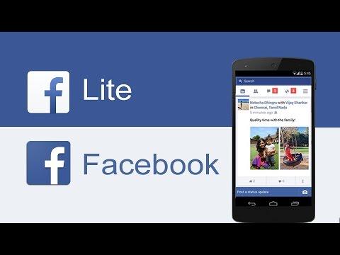 Facebook Lite VS Facebook ¿Qué aplicación usar?