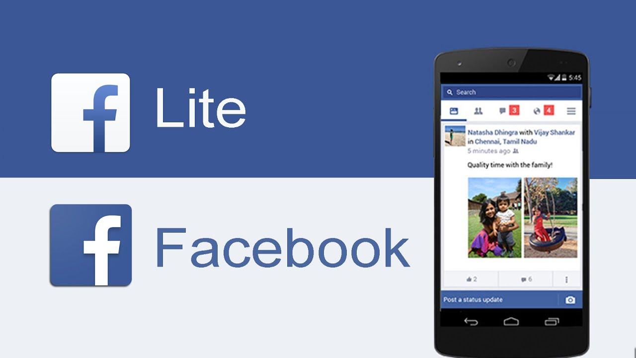 Facebook Lite Vs Facebook Qué Aplicación Usar Youtube