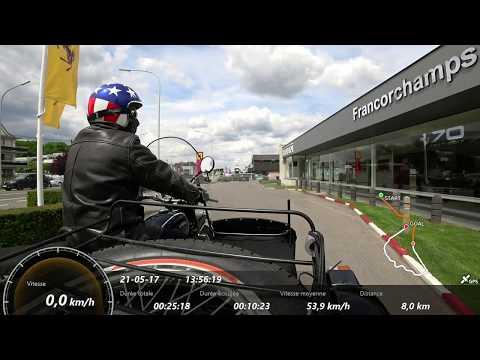 Ural Side car - 21 mai 2017 Dashboard Belgium