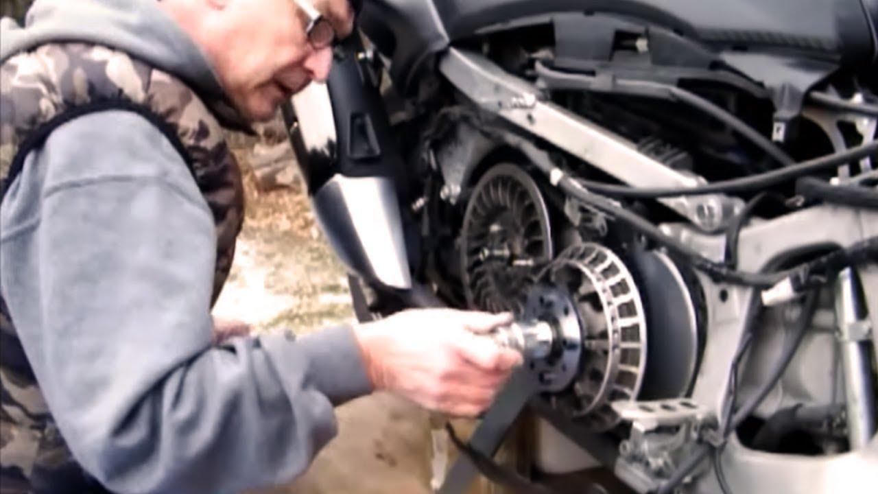 Clé outil bloque démonte variateur//galet//courroie//embray Easyboost Yamaha Tmax