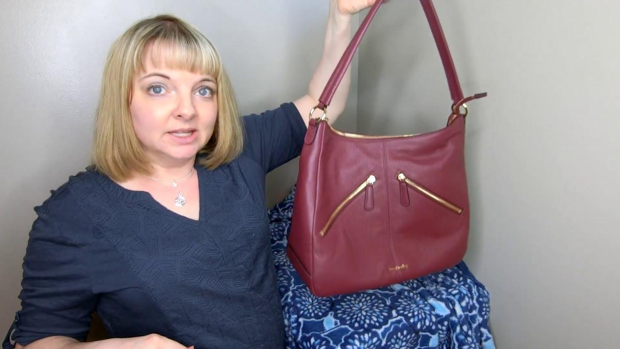 My Review Of Vera Bradley Leather Vivian Hobo Bag