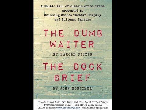The Dumb Waiter & The Dock Brief Cast & Creatives on 105 Calon FM