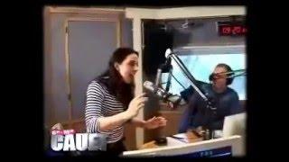 Melanie C performing FDOML @ French Radio Station.