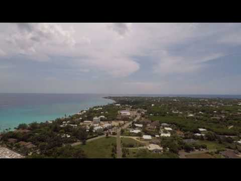 GoPro Karma drone time-lapse over west bay grand cayman