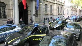 La Guardia di Finanza di Torino rende omaggio agli agenti di polizia morti a Trieste