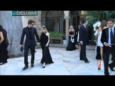 Video-Avril Lavigne on Kim Kardashian's Wedding,Los Angeles 2011