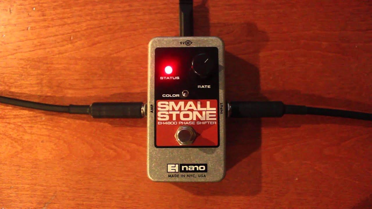 electro harmonix nano small stone demo youtube. Black Bedroom Furniture Sets. Home Design Ideas