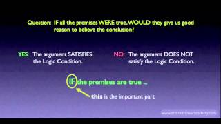 What is a Good Argument?: The Logic Condition Thumbnail