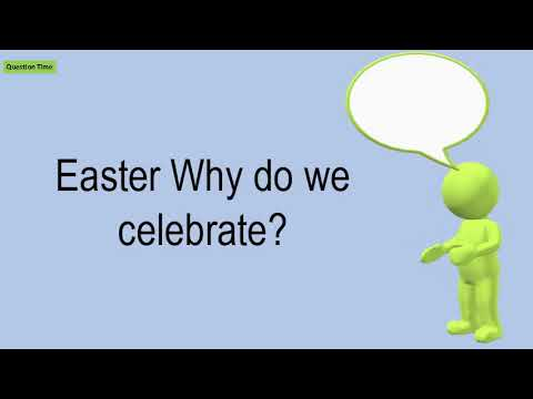 Easter Why Do We Celebrate?