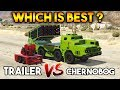 GTA 5 ONLINE : CHERNOBOG VS ANTI AIRCRAFT TRAILER (WHICH IS BEST?)