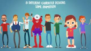 Video Rigmo - Rigged Character Animation Mockup | After Effects template download MP3, 3GP, MP4, WEBM, AVI, FLV Juni 2018