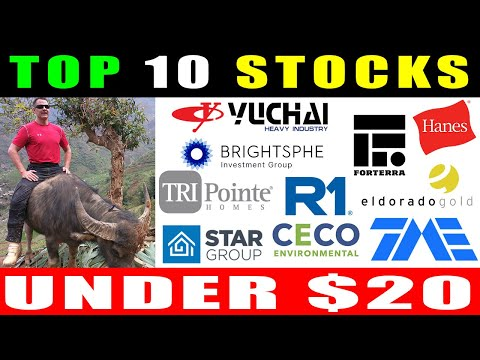 10 Cheap Stocks To Buy Now Under $20