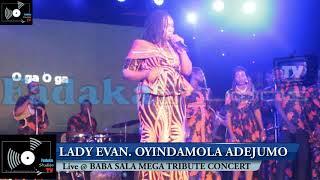 OYINDAMOLA ADEJUMO PAY TRIBUTE TO HER FATHER (BABA SALA)