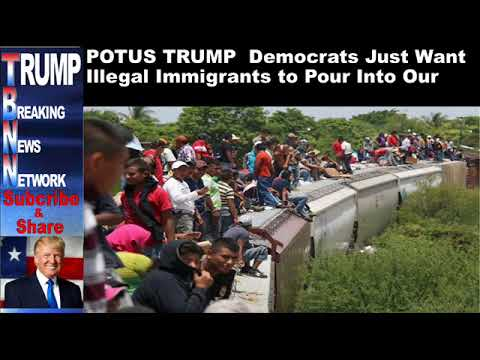 """Download Youtube: POTUS TRUMP """"Democrats Just Want Illegal Immigrants to Pour Into"""
