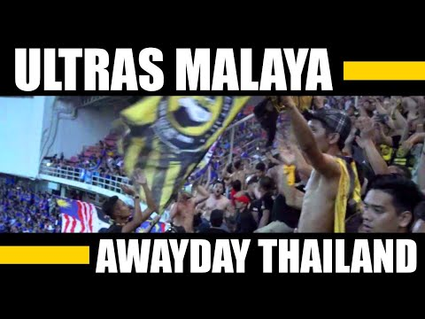 90 MIN to AFF Final 2018 - ULTRAS MALAYA - BEST OF BANGKOK - AFF SEMIFINAL THAILAND vs MALAYSIA