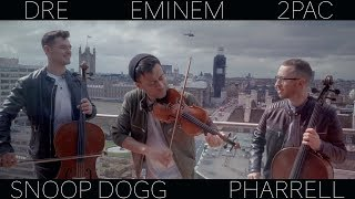 Hip Hop Medley ( Dr. Dre Eminem 2Pac Snoop Dogg Pharrell LMFAO) Violin Cello Cover Ember Trio