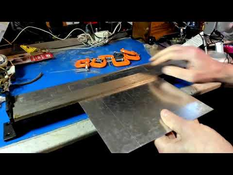 Making a 1937 Airline Radio Chassis Part 1