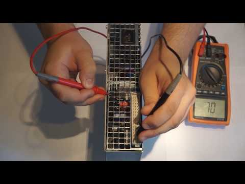 Hacking A Industrial Powersupply For Other Projects