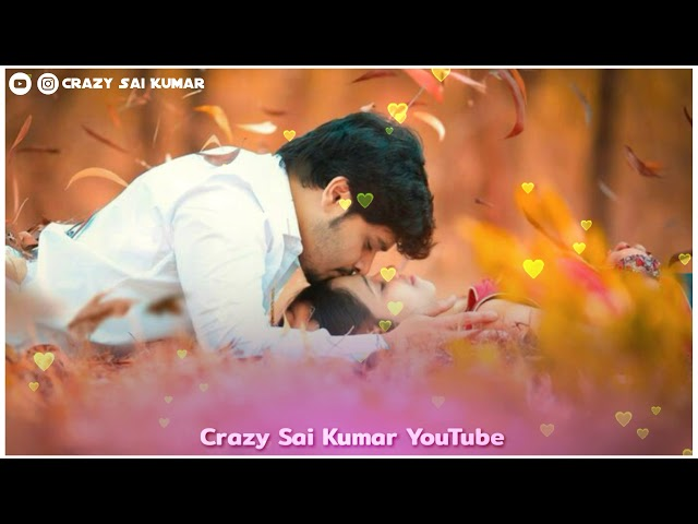Best Love Song WhatsApp Status video |Telugu |#Crazysaikumar