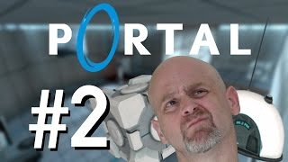 DROP THE ROCK! | Portal Playthrough (w/ Dad) - Part 2