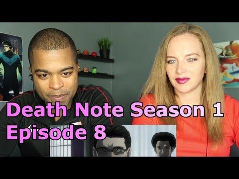 "Death Note Season 1 - Episode 8 ""Glare"" (Reaction 🔥)"