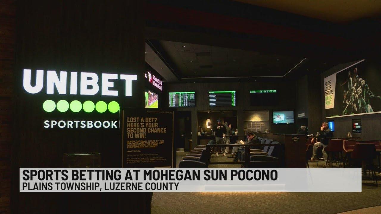Mohegan sun pocono sports betting delaware park sports betting