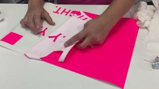 How to Apply Holographic Adhesive Vinyl and Shadow boxes