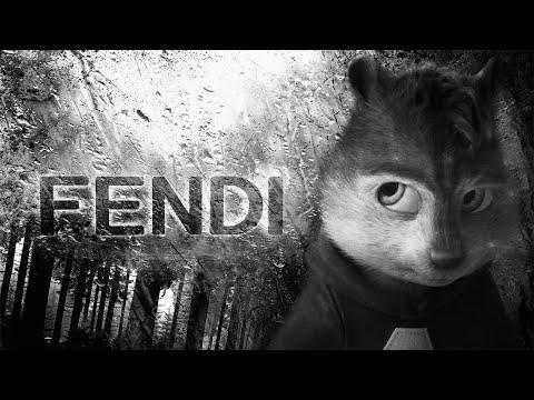 Элвин и Бурундуки поют - Кавер на Fendi (Rakhim) | (Пародийный клип, 2020)