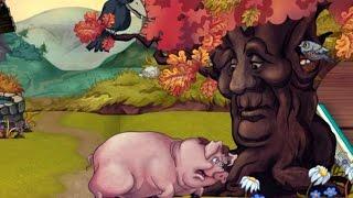 Свинья Под Дубом - Басня Крылова Для Детей На Ночь ♦ #сказка