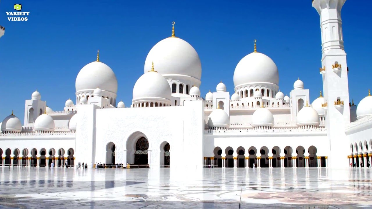 Abu Dhabi Hd Ferrari World Sheikh Zayed Grand Mosque
