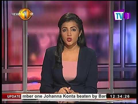 News1st Prime Time News Tv 1 Lunch news 22nd September 2017
