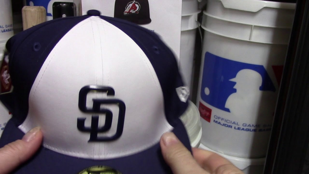 hot sale online 9fd93 1771d New Era Hat Review San Diego Padres 2018 Spring Training MLB Lids. Major  League Hatz