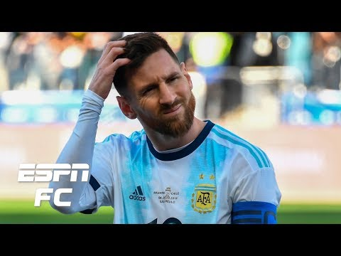 Will Argentina's Lionel Messi be punished for calling the referees corrupt?   Copa America