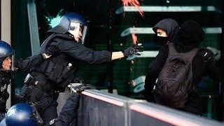 La Policía de Frankfurt usa gas lacrimógeno contra activistas frente al BCE